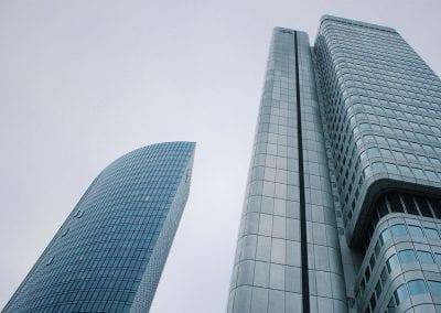 Twin Skyscraper